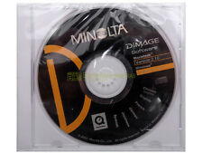 Minolta Dimage Software Version 2.10, windows.