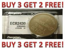 Energizer ECR2430 CR 2430 Lithium 3V Battery Brand New BUY 3 GET 2 FREE!!