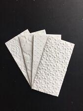 50 Freudentränen Taschentücher geprägt Hochzeit / 50 tissues stamped Wedding
