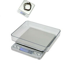 Pocket Digital Jewelry Scale Weight 500g x 0.01g Balance Electronic Gram LCD