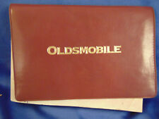 Vintage 1996 Oldsmobile 88 Owner's Manual maintenance schedule record seat belt