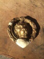 Antique Lion Face Doorknocker