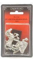 Ral Partha Headless Horseman #01-211 Unpainted Classic Fantasy RPG Metal Figure