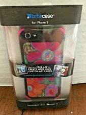 Britecase for iPhone 5:  Includes 4 art card styles, colored corner clips, App