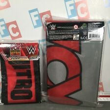WWE Wicked Cool Toys Authentic Scale WCW Nitro Ring Apron & Mat Cover Accessory