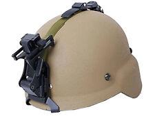 Tactical MDG M88 Helmet + Night Vision NVG Mount Set Airsoft Tan