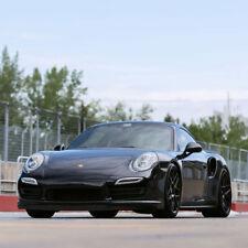 """20"""" HRE FF01 FLOW FORM BLACK CONCAVE WHEELS RIMS FITS PORSCHE 991 911 4 4S TURBO"""