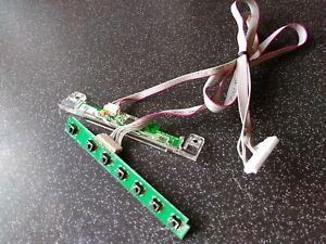 Sharp LC-49CUF8472ES Button Board And IR Sensor