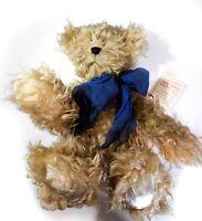 """Distressed Fur OOAK Teddy Bear """"Gabriel"""" Artist Association Mary L Thiele"""