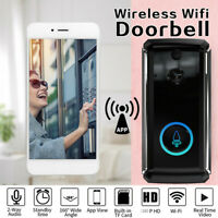 Smart Wireless WiFi Doorbell HD 1080P IR Video Phone Intercom Security Camera
