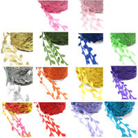 LEAF TRIM HAIR GARLAND VINE LEAVES RIBBON SEW ON CRAFTS BRIDAL