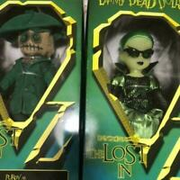 MEZCO TOYZ Living Dead Dolls the lost in oz the witch the scarecrow set figures