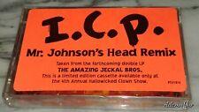 SEALED INSANE CLOWN POSSE MR. JOHNSON'S HEAD CASSETTE TAPE HALLOWICKED 1998 RARE