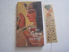 L ' ABECEDAIRE DE L ' EGYPTE ANCIENNE CHEZ FLAMMARION AVEC MARQUE PAGE.TB ETAT .