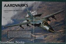 2011 magazine article: F-111 Aardvark, Australian Air Force, General Dynamics