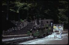35mm slide BRB Brienz-Rothorn-Bahn 5 Brienz Switzerland 1974 original