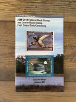 #RW85 / #JDS26 2018 - Duck Stamp Program - First Day of Sale **FDS**