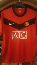 Men's Manchester United home football shirt size L Nike 2009-2010 MINT