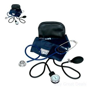 New Stethoscope And Blood Pressure Cuff Medical Kit Monitor Heart