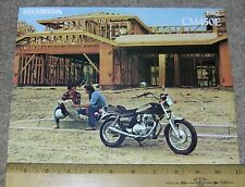 1982 82 Honda Cm450E Motorcycle Dealer Sales Brochure Spec Sheet