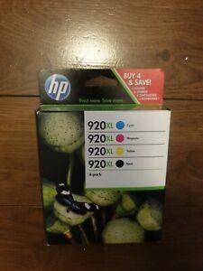 CARTOUCHES D'ENCRES HP 920 XL pack de 4  noir/cyan/magenta/jaune 10/21