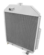 1948 1949 1950 -52 Ford F1 F2 F3 Pickup Truck 3 Row RR Radiator (Chevy V8)