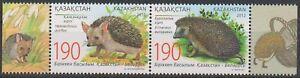 2012 Kazakhstan-Belarus Joint Issue Fauna Hedgehogs  MNH
