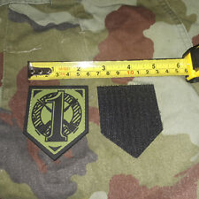 IRISH / IRELAND RUBBERISED SUBDUED FIRST MECHANISED INF COY MIC PATCH - NEW