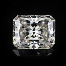 Radiant  Cut 8x10mm Near White G-H VVS Clarity Moissanite  for Wedding Ring