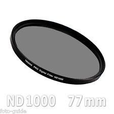Nd1000 filtro gris 77 mm density Grey Tridax pro digital