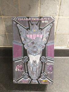 Cloud 9 Quakeblast W-01Transformers 3rd Party Masterpiece Shockwave MIB