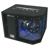 HIFONICS MR-8BP SINGLE BANDPASS 20 cm Mercury-Serie MR8BP 600 Watt Subwoofer