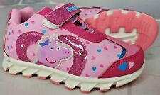 Peppa Pig Light Up Toddler Shoes Sneakers Size 9 NEW
