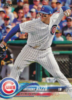 Anthony Rizzo 2018 Topps Series 1 #50 Chicago Cubs Baseball Card