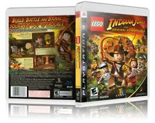 LEGO Indiana Jones : The Original Adventures Custom PS3 Cover and Case. NO GAME!