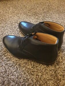 CLARK'S MEN'S LEATHER FORMAL BOOTS_SHOES (CORFIELD MID)SIZE 8.5(42.5)