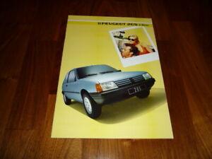 Peugeot 205 3tg Prospekt 1985