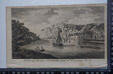 1776 - Engraving of View of Bristol Hot Wells and St Vincent's Rock