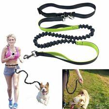 Adjustable Hands Free Leash Dog Pet Lead Waist Belt For Jogging Walking Running