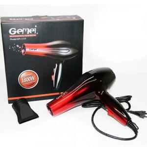 Gemei Professional Hair Dryer 1800W