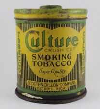 CULTURE KNOB TOP TOBACCO CANISTER