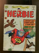 HERBIE #8 (3.0) MAKE WAY FOR THE FAT FURY! 1965