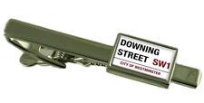 Downing Street señal de tráfico Clip de Corbata Grabado Personalizado Caja