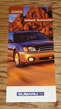 Original 2000 Subaru Outback Accessories Foldout Sales Brochure 00