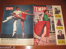 RIVISTA TEMPO 1952/24=JANET LEIGH=JOHN GARFIELD=BALLERINI NEW YORK CITY BALLET=