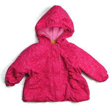 PENELOPE Girls Kids Clothes Outerwear Zip-Up Hooded Jacket Pink Size 12 Months