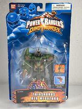 BANDAI~2003~Power Rangers~Dino Thunder~Triasaurus Rex Megazord~5' Ranger~NEW~VTG
