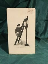 "(1) Dpt 56 / Heritage #5677-8 Dickens Village ""Lamplighter And Accessory Set"""