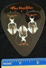 PROMOTIONAL THREE DAYS GRACE GUITAR PICKS ( HUMAN) 3 PICKS ON A WALLET CARD B3