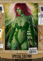 Poison Ivy SEXY Toxic Paradise Gotham Signed A3 DC Comic Art Print Batman Joker